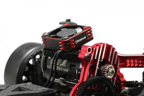 YOKOMO ALUMINUM FRAME 30MM COOLING FAN RED (D-CFR)