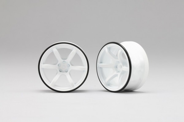 YOKOMO RP DRIFT WHEEL HIGH TRACTION TYPE WHITE (RP-6316W6)