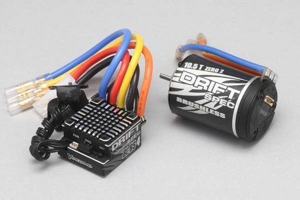 YOKOMO BL-RS4 DRIFT SPEC COMBO SET (10.5T) (BL-R4105D)