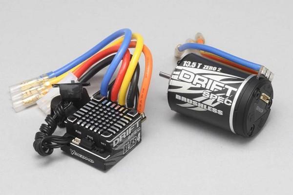 YOKOMO BL-RS4 DRIFT SPEC COMBO SET (13.5T) (BL-R4135D)