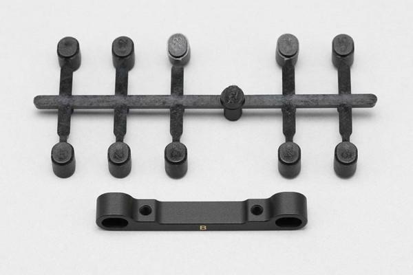 YOKOMO Brass Suspension Holder B for YD-2 / BD 8 B (43.5 to 46.7 mm) (TS-2150)