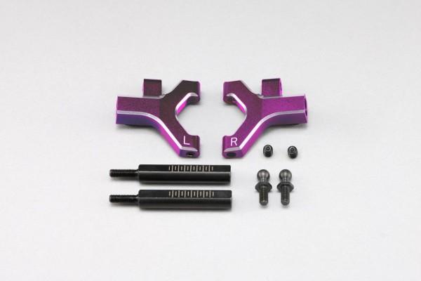 YOKOMO Front lower short A arm set (Purple anodized) (Y2-P08FSC)