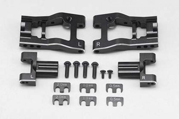 """YOKOMO Aluminum Adjustable Rear """"H"""" Arm Kit for YD-2/YD-4 (Y2-008RA)"""