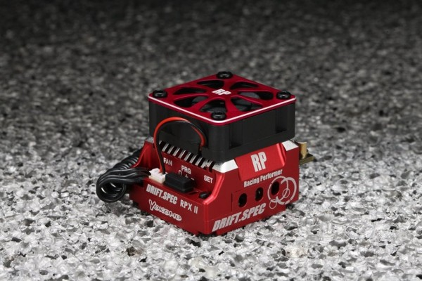 YOKOMO Racing Performer Competition Brushless ESC, RED Version (BL-RPX2DR)