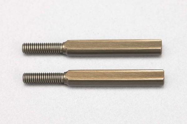 YOKOMO Aluminum 23mm Rod end adaptor for Front upper A arm (D-155-23A)