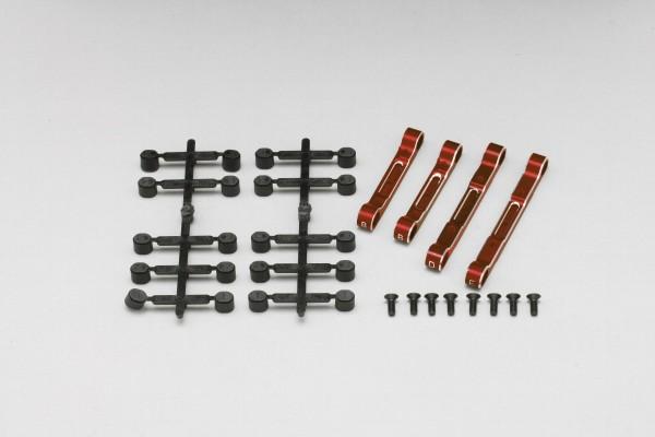 YOKOMO Adjustable Suspension Mount for YD-2 (Red anodized) (Y2-301AR)