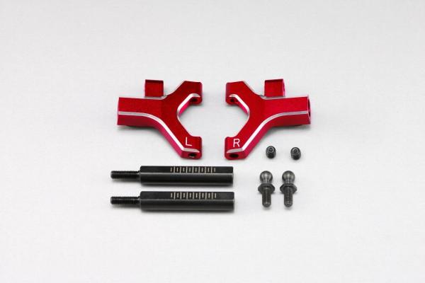 YOKOMO Front lower short A arm set (Red anodized) (Y2-R08FSC)