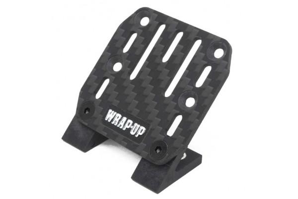 WRAP UP-NEXT CARBON ESC PLATE/SLASH MOUNT SET (0458-FD)