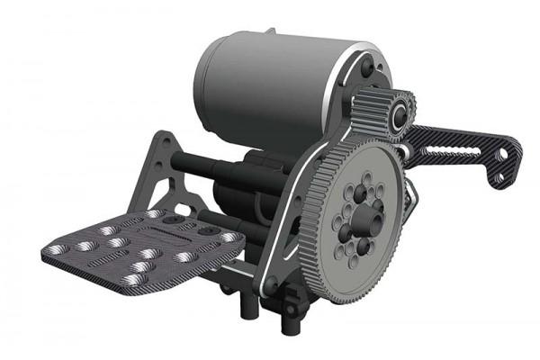 WRAP-UP NEXT Overhead Concept -YD-2 Motor Conversion- (BLACK)(0563-FD)