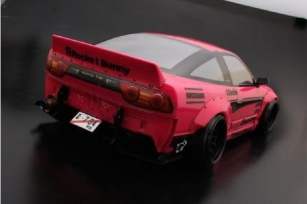 ADDICTION ROCKETBUNNY 180SX RODEO SPECIAL V2 Ducktail Wing (AD010-5)
