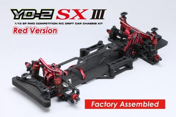 YOKOMO RWD Drift Car YD-2SXIII Assembled Chassis Red Version (DP-YD2SAR)