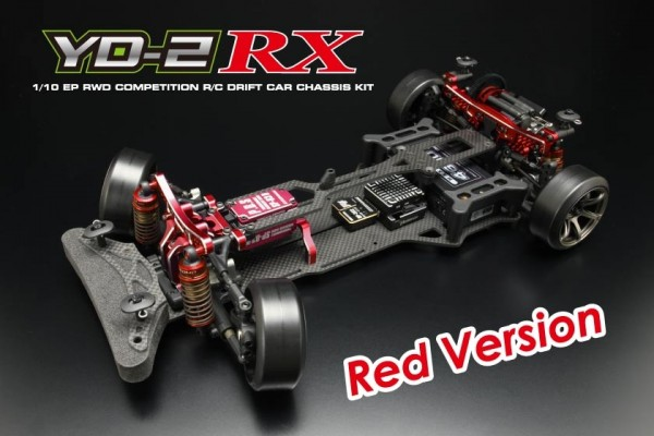 YOKOMO RWD Drift car YD-2RX RED (DP-YD2RXR)