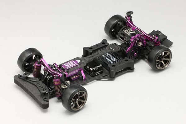 YOKOMO RWD Drift car YD-2SXIII Purple Version with 302V4P GYRO (DP-YD2SX3PG)