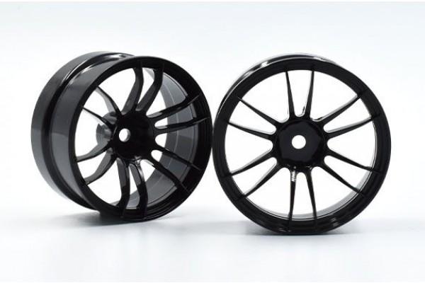 REVE D Drift Wheel UL12 (BLACK, Offset 6, 2pcs)(RW-UL12K6)