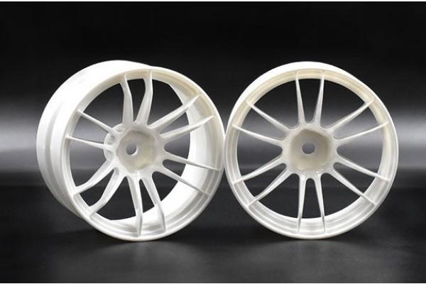 REVE D Drift Wheel UL12 (WHITE, Offset 6, 2pcs)(RW-UL12W6)
