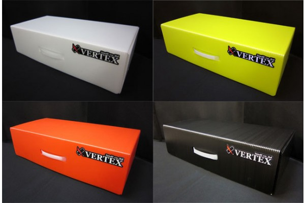 Vertex-RC Plastic Container Black (VPCI-BK)