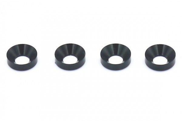 REVE D 3MM COUNTERSINK WASHER (4PC.)(RC-002)