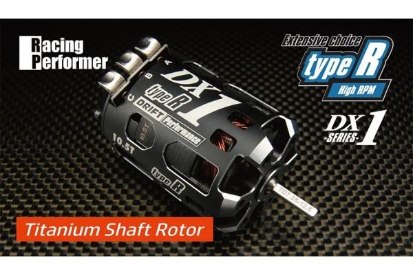 YOKOMO RACING PERFORMER DX1 TYPE-R BRUSHLESS MOTOR 10.5T (TITANIUM SHAFT SPECIFICATION) (RPM-DX105RT)