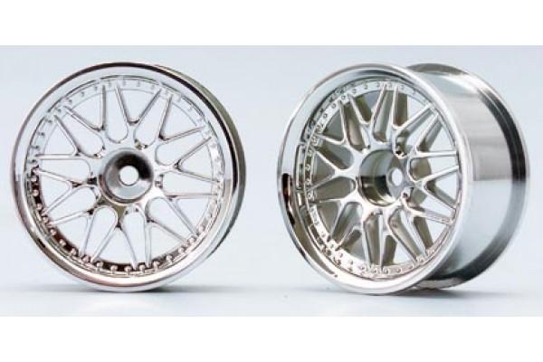 YOKOMO 10 Mesh Wheel Chrome (TW-1313N)