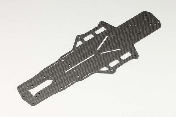 YOKOMO Matte graphite X3 Main chassis for YD-2(Y2-002XG)