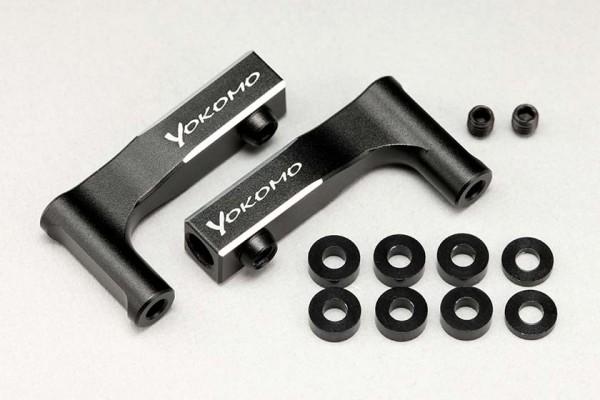 YOKOMO YD-2 ALUMINUM UPPER I ARM BLACK (Y2-008FUI)