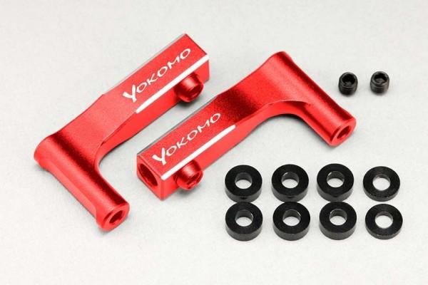 YOKOMO YD-2 ALUMINUM UPPER (RED) I ARM (Y2-R08FUI)