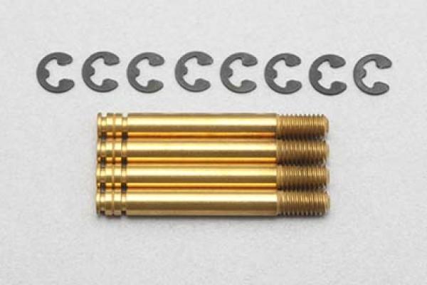 YOKOMO Titanium coated shock shaft for YD-2/YD-4 SLF bigbore shock (Y4-S5T)