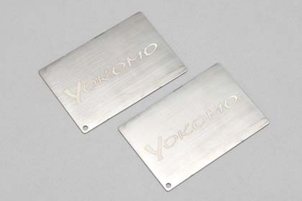 YOKOMO 25g Racing Battery Weight (2 pcs.)(YT-RW25)
