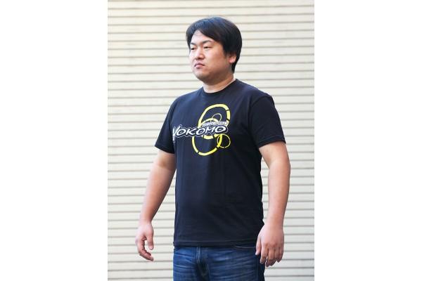YOKOMO TEAM T-SHIRT BLACK MEDIUM (ZC-T24M)
