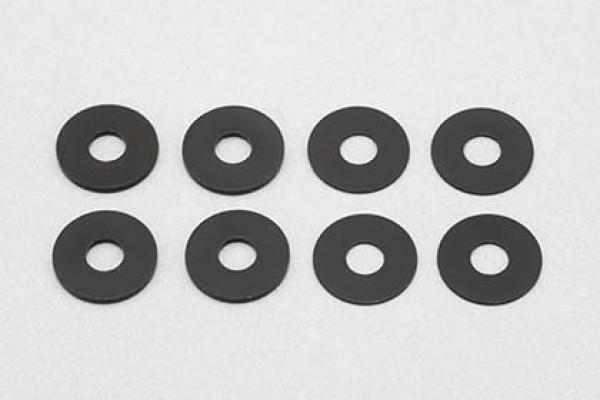 YOKOMO Tread Adjust Spacer (0.5mm / 1.0mm · 4Pcs Each) (ZS-011TSB)